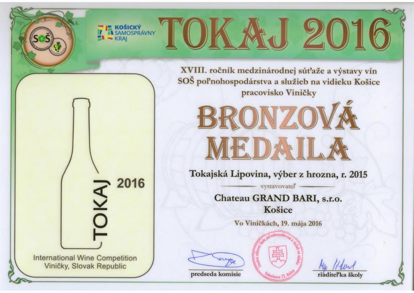 Tokaj Hárslevelű – Hárslevelű dry 2015